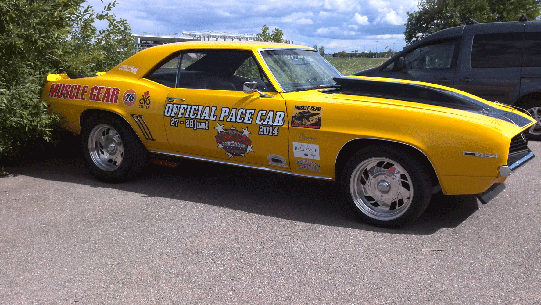 Muscle Gear Pace Car 2014