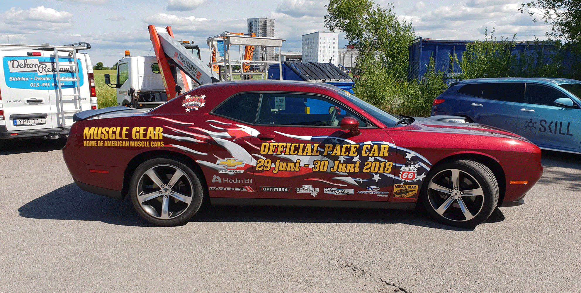 Muscle Gear Pace Car 2018